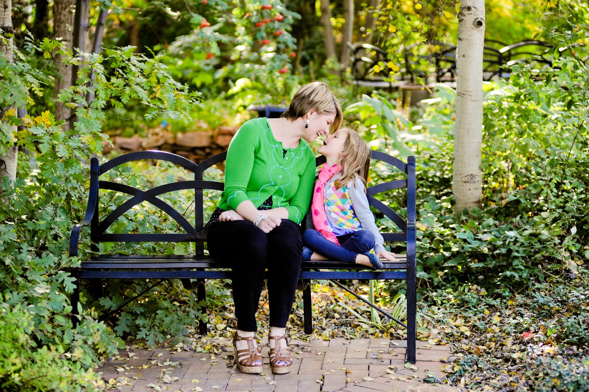 Denver Botanic Gardens Family Portraits