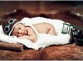Vintage Newborn Portrait