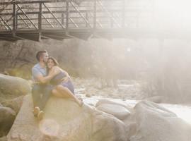 boulder creek engagement photos
