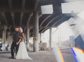 road trip wedding photos