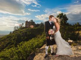 cherokee castle wedding photos