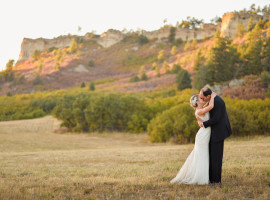 Spruce Mountain Ranch Fall Wedding Photos