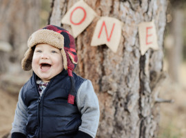 Lumberjack Themed Baby Photos