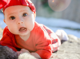 Holiday Baby Photos