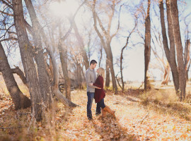 McCabe Meadows Engagement Photos in Parker