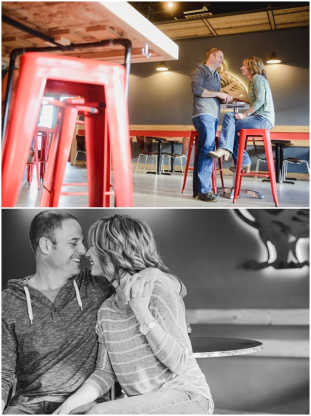 Sanitas Brewing and Snow Engagement Photos_0003