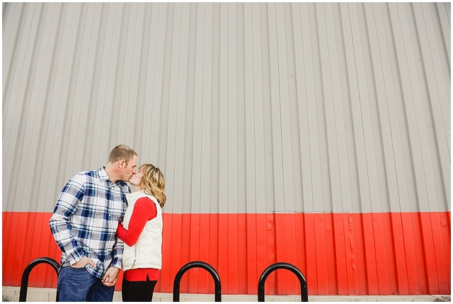 Sanitas Brewing and Snow Engagement Photos_0004