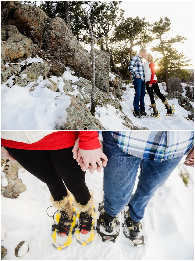 Sanitas Brewing and Snow Engagement Photos_0008