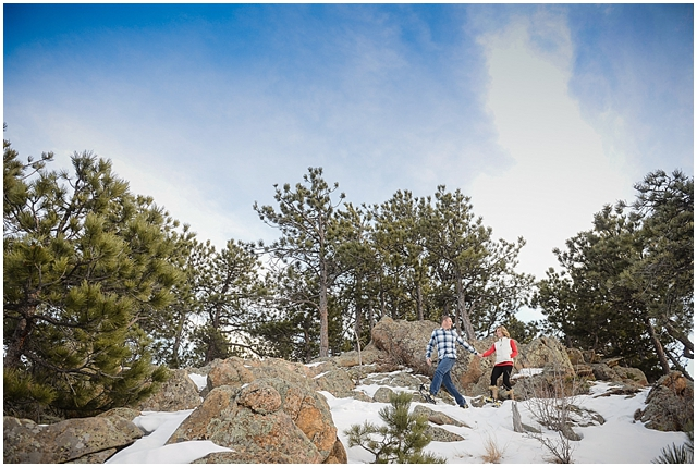 Sanitas Brewing and Snow Engagement Photos_0009