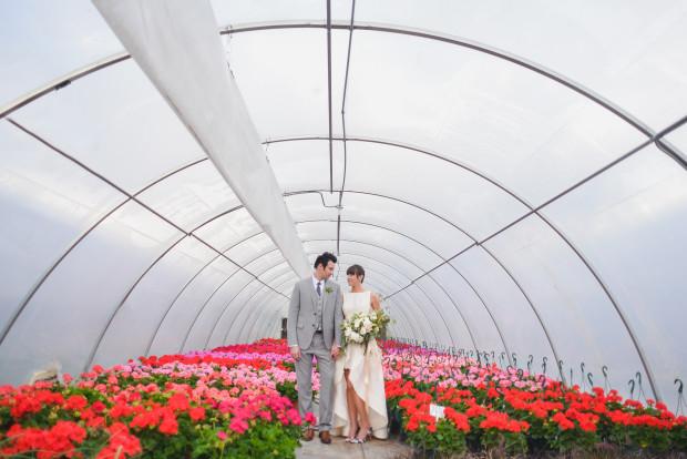 Blanc Wedding Photos Calabrese Greenhouse