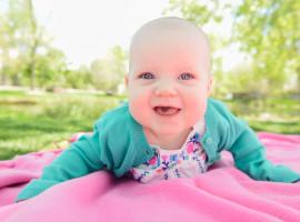 Hudson Gardens Baby Photos
