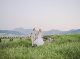 Spruce mountain guest ranch wedding photos