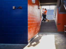 sports authority field at mile high engagement photos