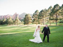Arrowhead Golf Club wedding photos
