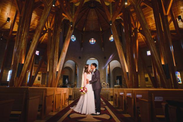 Our Lady of Loreto and Sanctuary Golf Club wedding photos