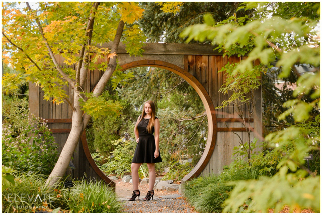 Amber Denver Botanic Gardens Senior Photos Denver Wedding Photographers Elevate Blogdenver