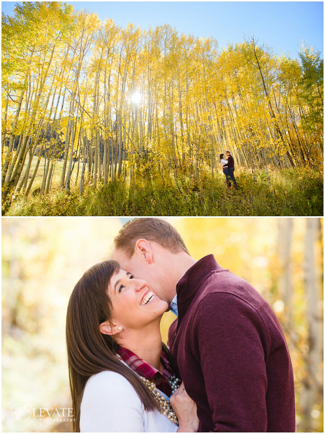 Soak up these colors, they'll be gone before you know it! Cassie and Matt were such sweethearts at their engagement this weekend! -Ryan #glenwoodsprings #sunlight #aspen #fallengagement #engagement #engagementphotography #engagementphotos #engagementsession #denverengagement #coloradoengagement #prewedding #photographer #engaged #love #engagementring #instagood #cute #photooftheday #happy #engagementpics #engagementphoto #coloradophotographer #wedding #elevatephotography #elevateisforlovers