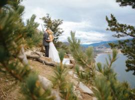 silverthorne pavilion wedding photos