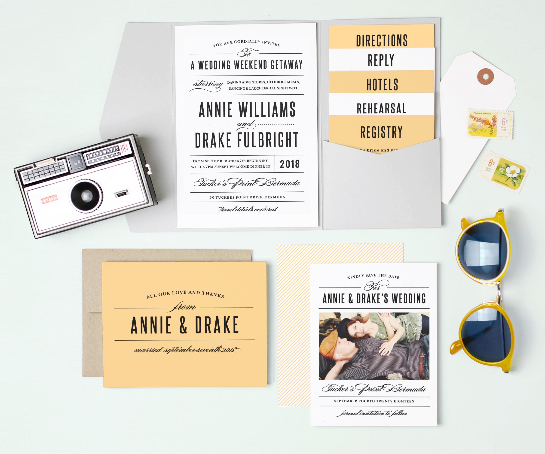Invitation Inspiration - Denver Wedding Photographers - Elevate ...