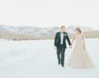 Aspen snowmass wedding photo winter