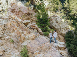 boulder engagement photos el dorado canyon