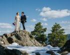 Wedding Couple on Genesee Mountain