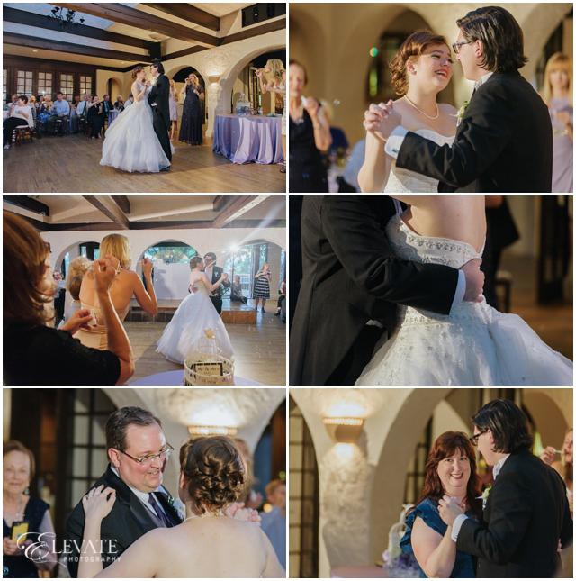 wedding reception first dances