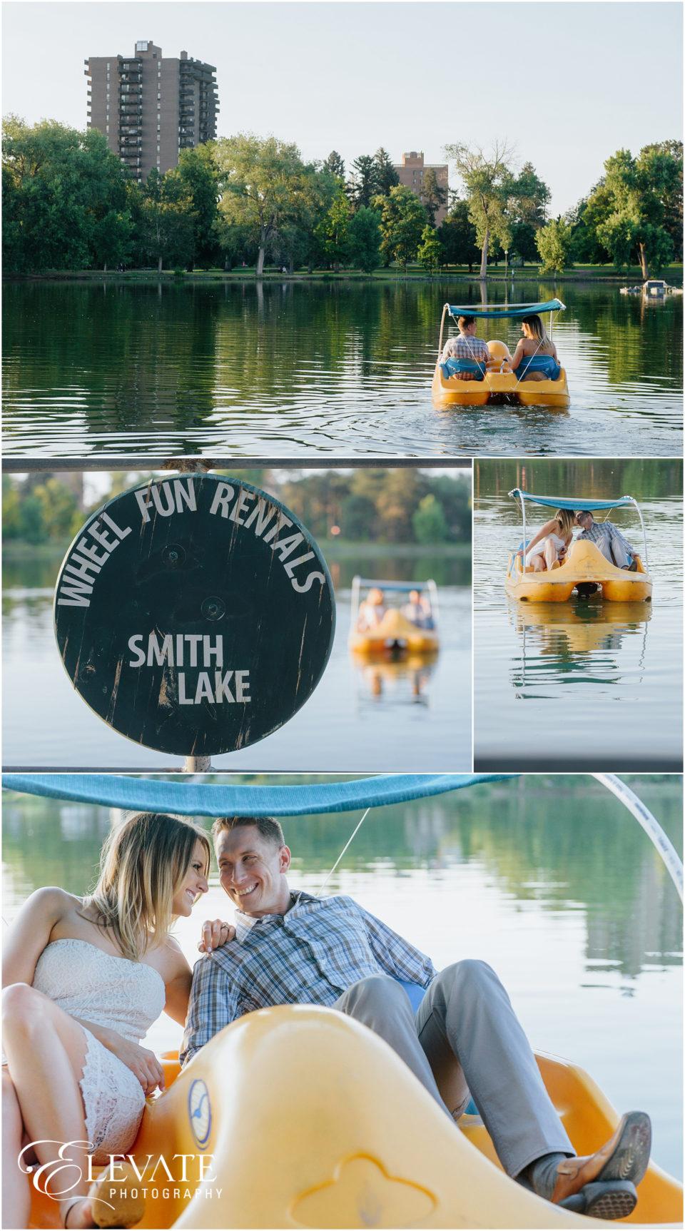 Wash Park Engagement Photos