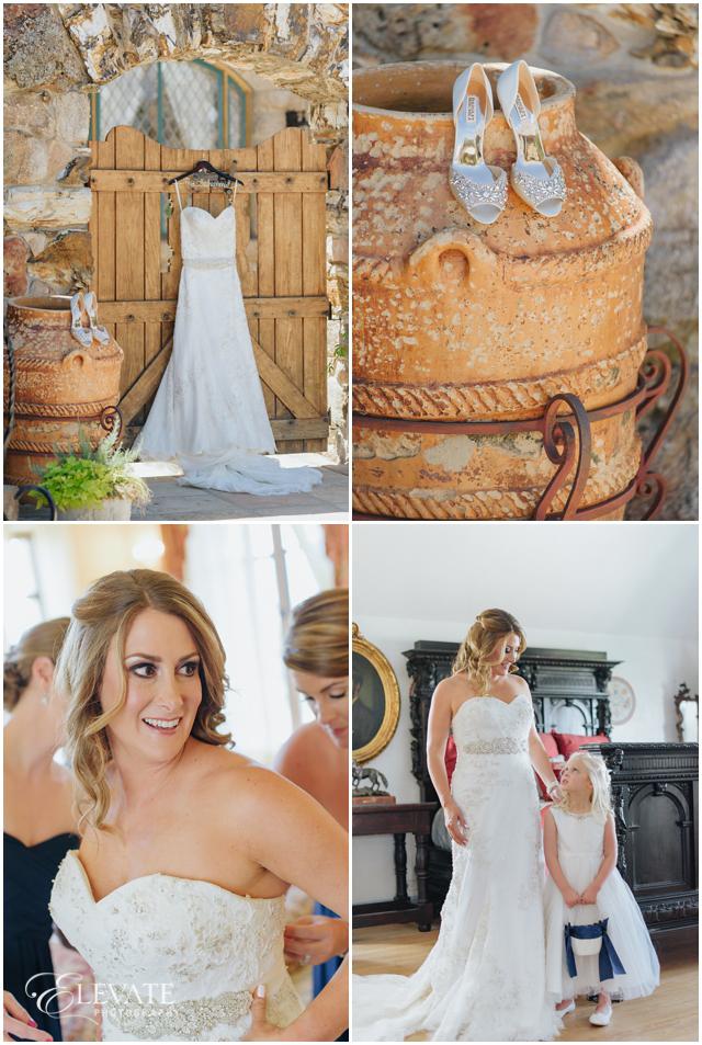 wedding dress cherokee castle