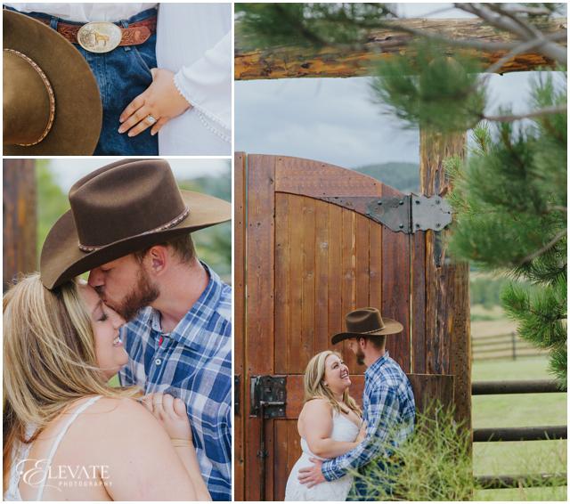 cowboy engagement