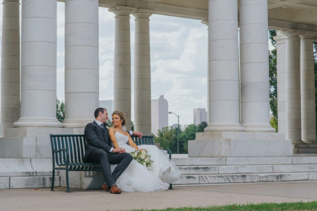 Cheesman Park Wedding Photos