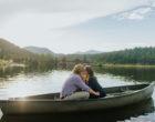 Evergreen Lake Engagement Photos