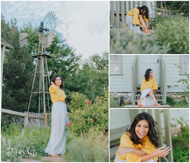 senior photos windmill