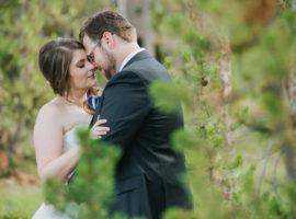 Winterpark mountain wedding