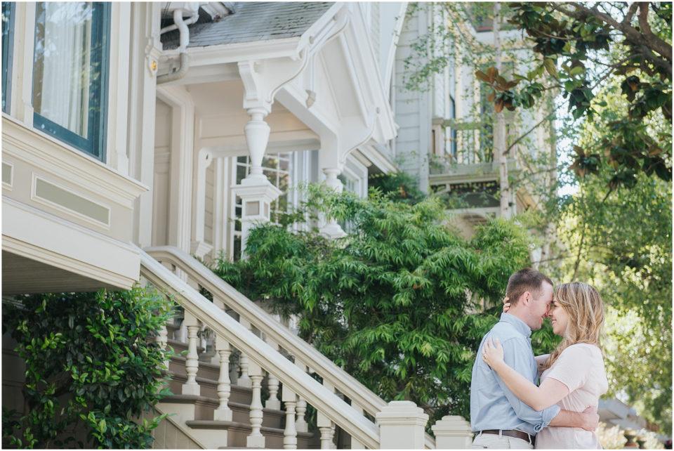 San Francisco and Sonoma Engagement Photos