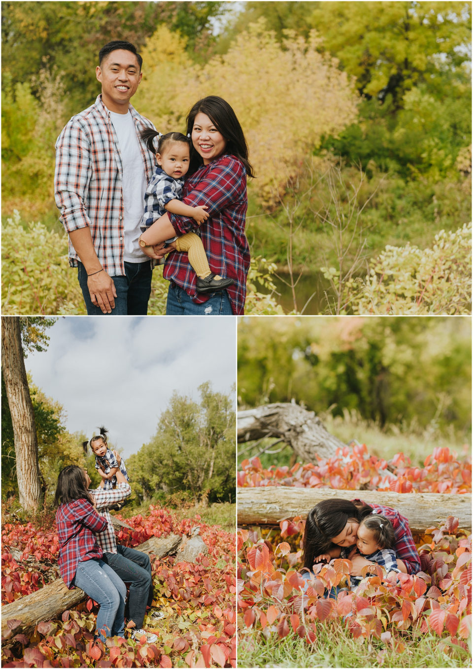 Bear Creek Park Family Photos
