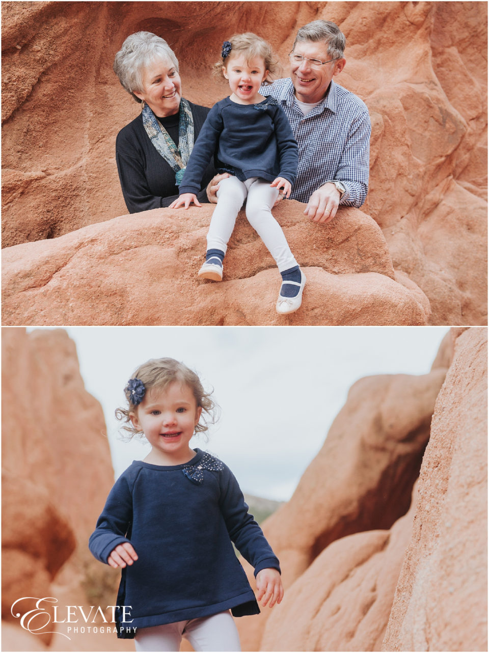 Garden of the Gods Family Photos