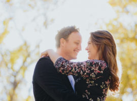 cherry creek fall engagement