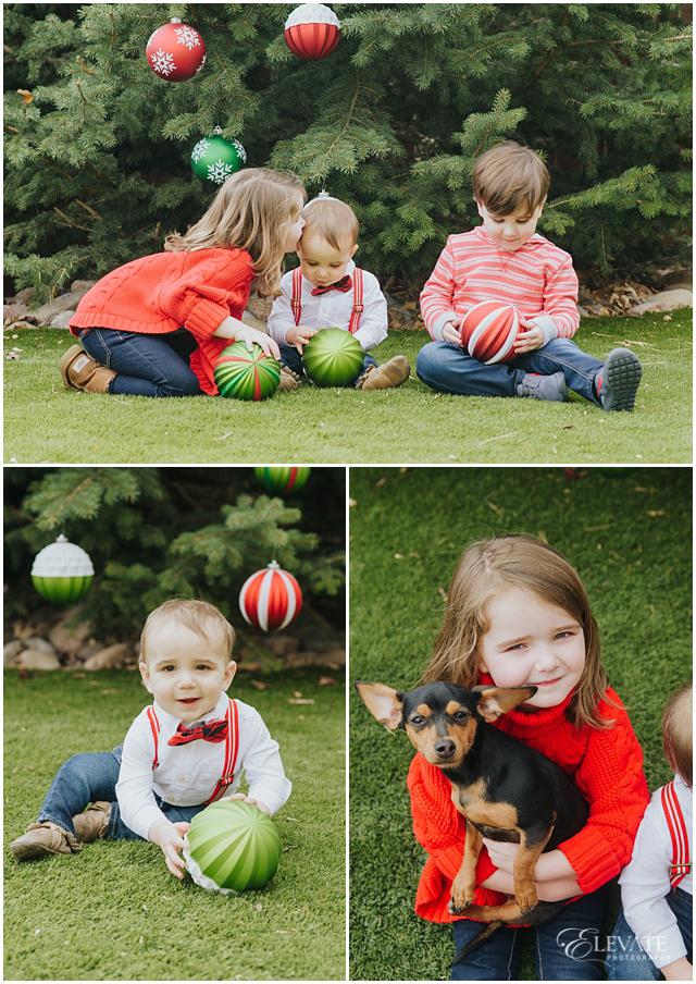In Home Christmas Photos