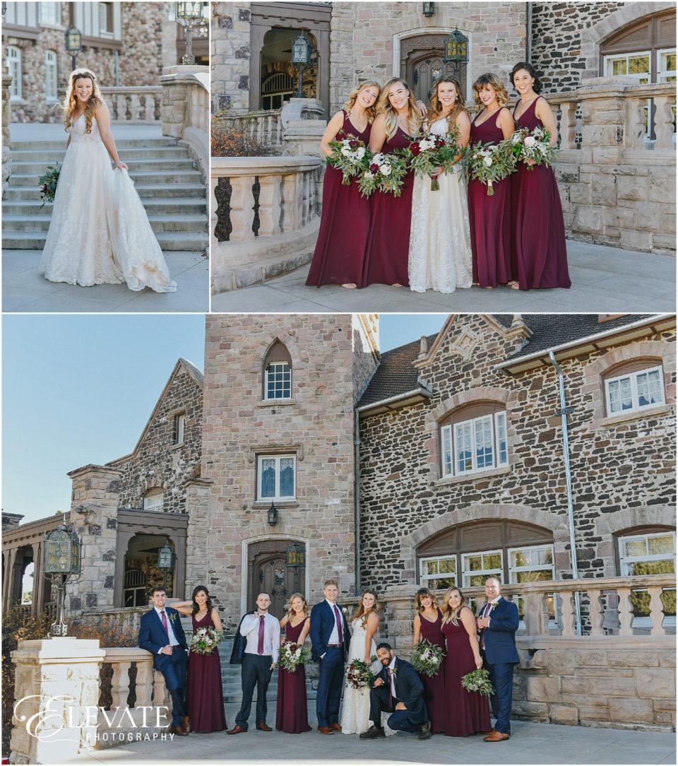 melinda leland highlands ranch mansion wedding photos