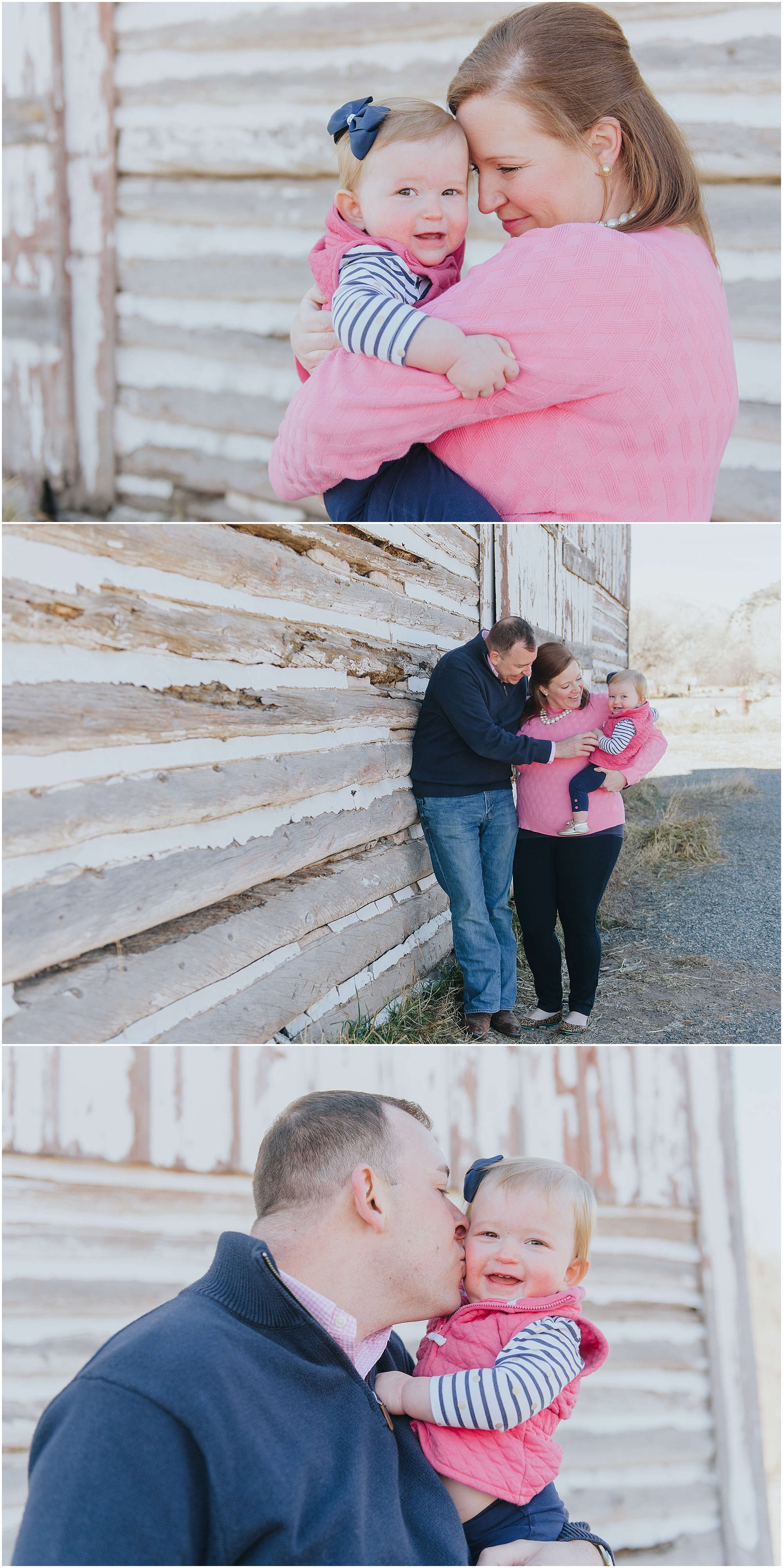 Rustic Barn Family Photos