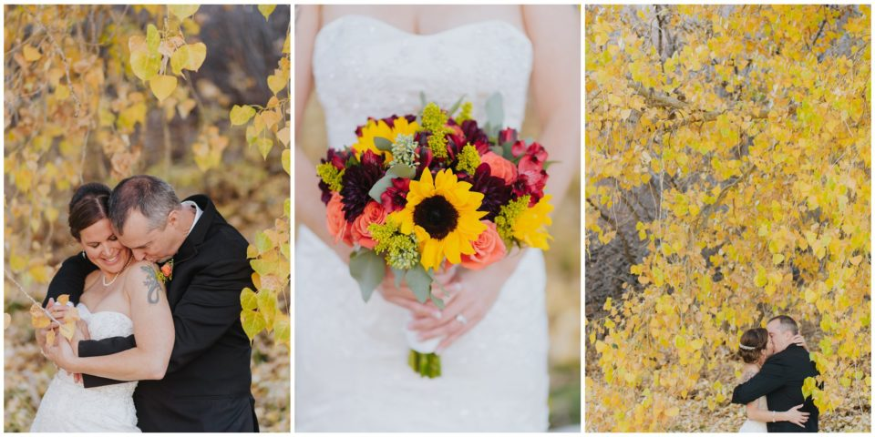 sunflower bouquet fall