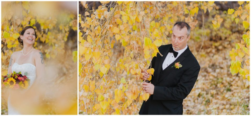 wedding fall colors