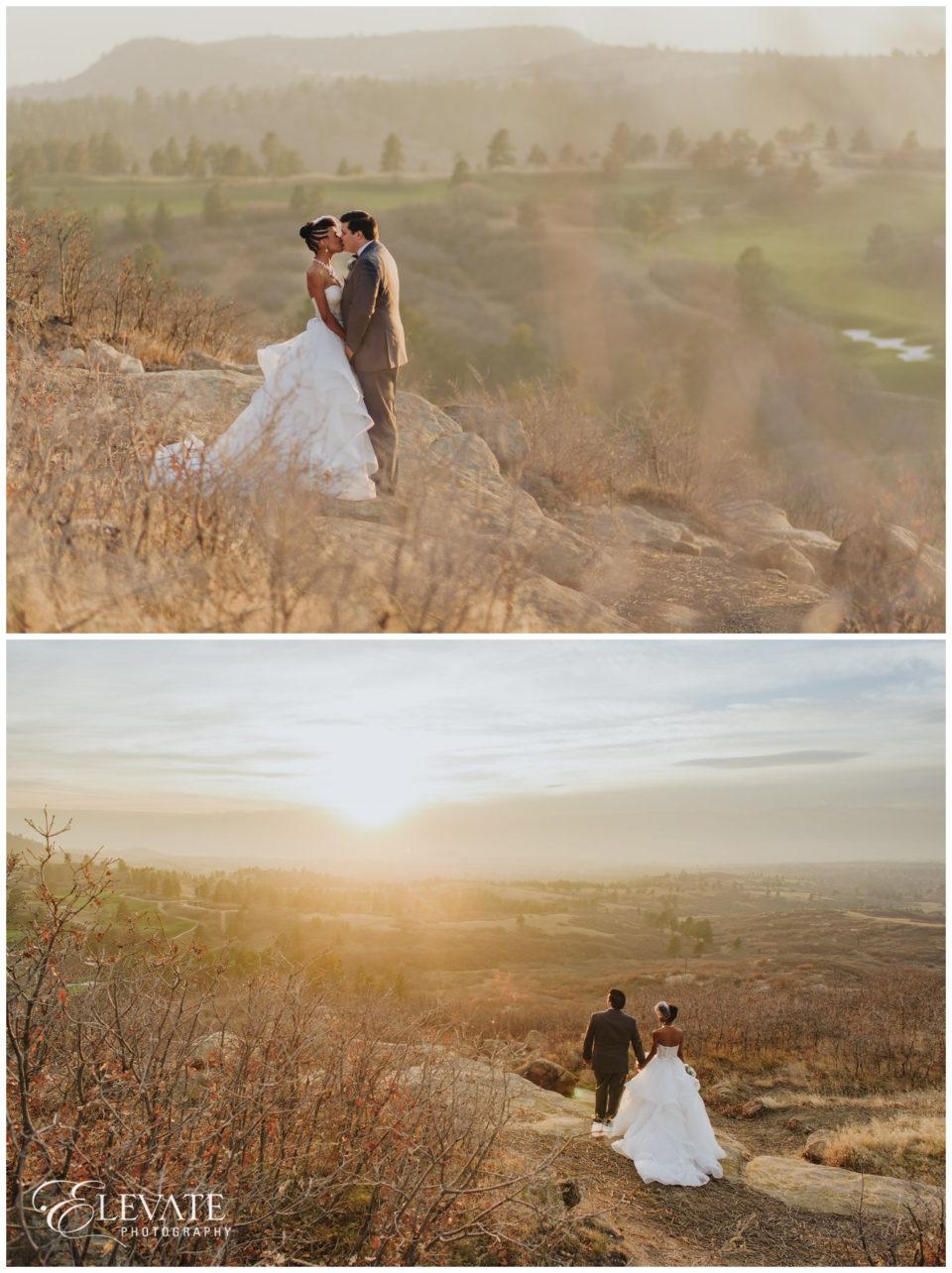 sunset daniels park wedding