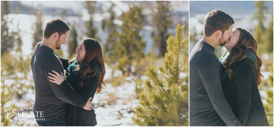 Breckenridge Winter Engagement Photos