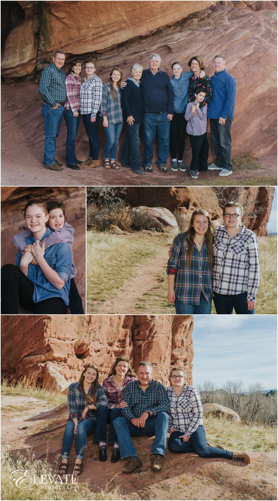 Ken Caryl Extended Family Photos