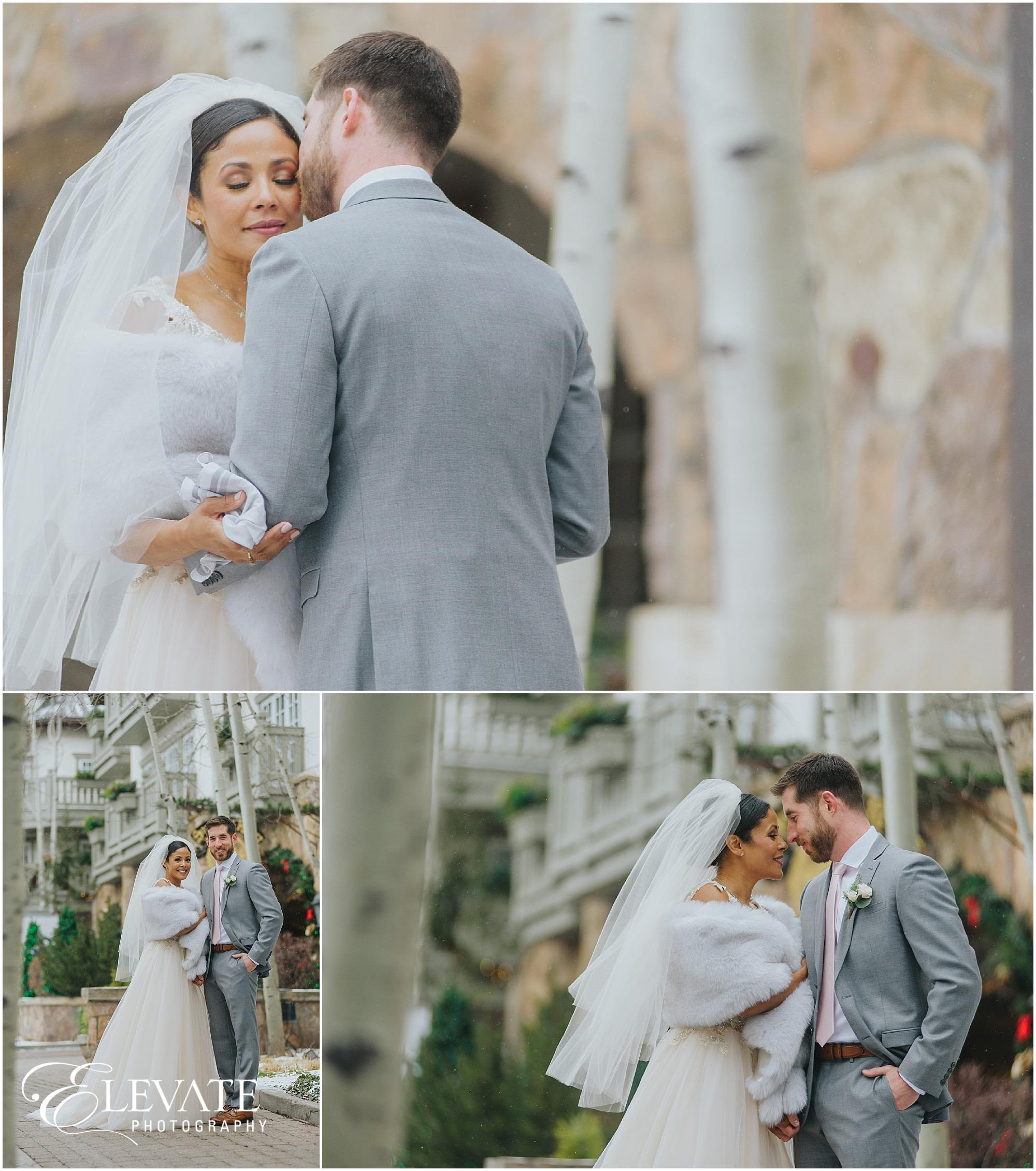 Zuleika + Jeb | Sonnenalp Winter Wedding Photos - Denver Wedding ...