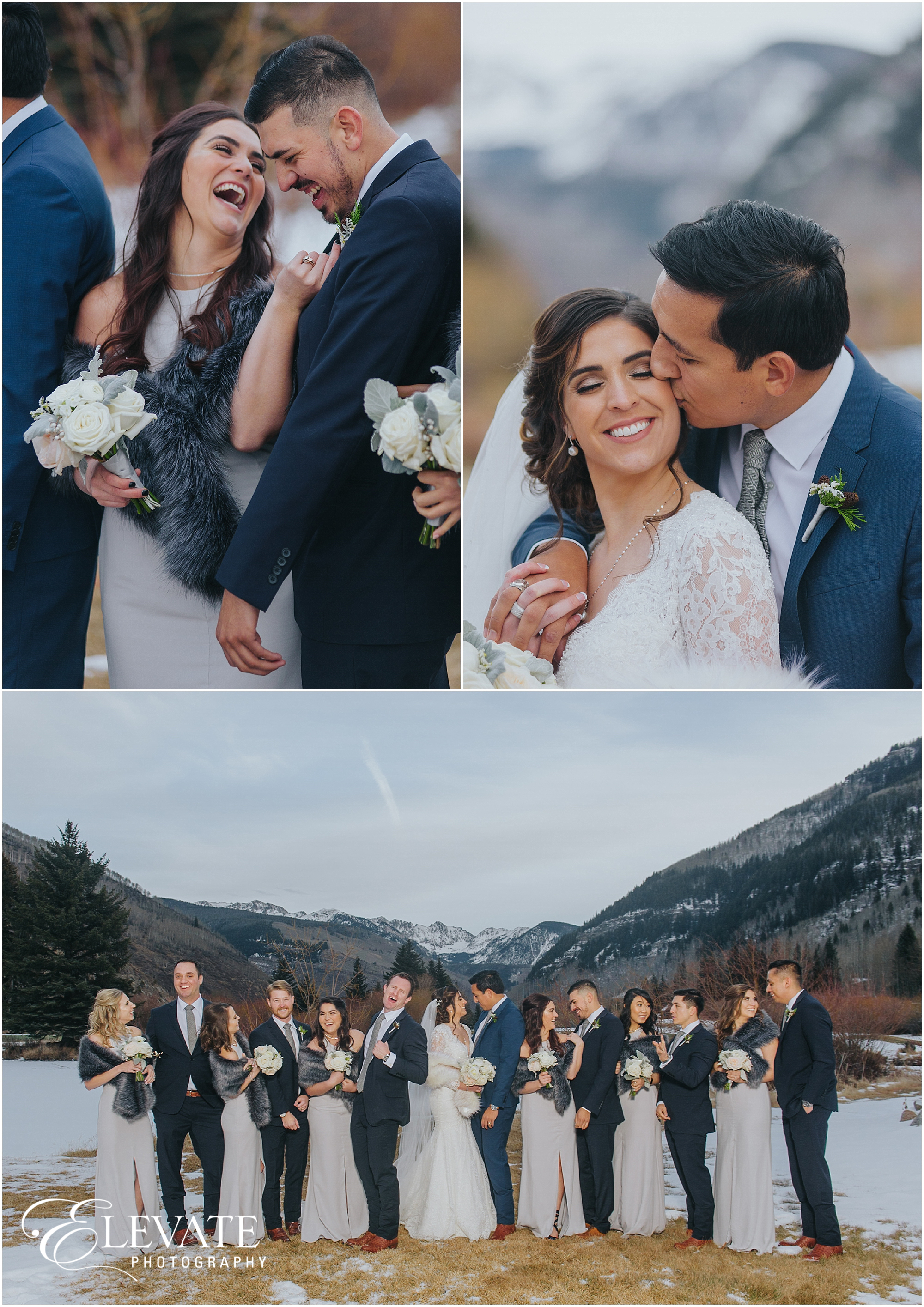 Ashley + Ricardo | Vail Winter Wedding Photos - Denver Wedding ...